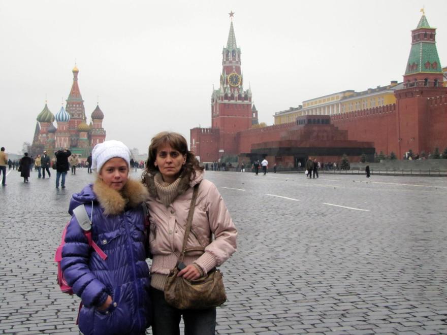 Жена и дочь