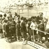 Посещение крейсера жителями Латакии (фото С.Кочнева)