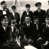 С руководством общины моряков бухты Которской (Я. Рябинский)