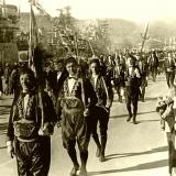 Парадное шествие жителей города Котор (фото С.Кочнева)