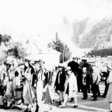 Шествие к памятнику воставшим австро-венгерским матросам (Фото В. Зинченко)